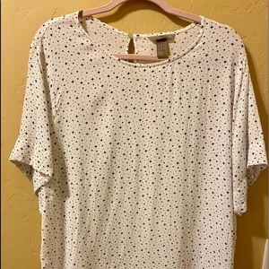 H&M Plus Size Short Sleeve Women's Blouse- Size 20